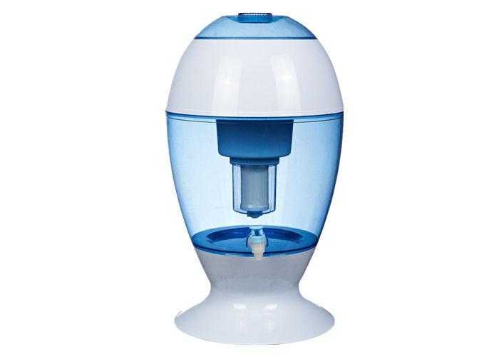 Transparent Blue Office Mineral Water Pot Easy For Drinking Clean Water
